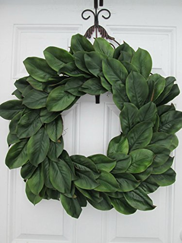 Amazon Com Large Magnolia Wreath Large Magnolia Door Decor