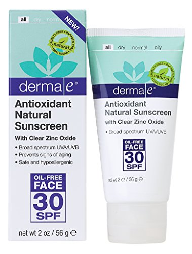 derma Antioxidant Natural Sunscreen Oil Free product image
