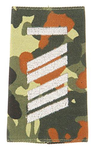 Originalae Personnel Rangs Bundeswehr argent Terre Flecktarn Rang Blöchel Insigne Ua Armée Couleurs A Boucles Caporal De D'épaule Haute Divers Tous T51qnwO