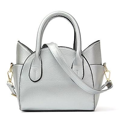 OURBAG Women's Fashion Top Handle Cute Cat Cross Body Shoulder Bag
