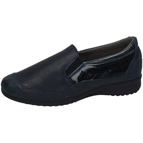 VULCA-BICHA 169 Mocasines DE Piel Mujer Zapatos MOCASÍN Marino 36