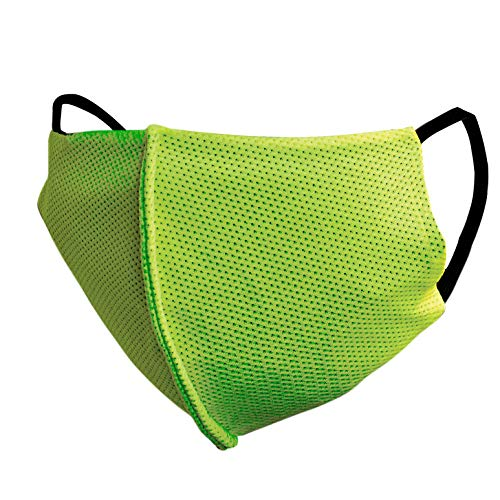 UBON M-100 3 Layer Reusable Cotton Face Mask Washable Breathable Protective Stylish Nose Mouth Cover for Men & Women (Green) Price & Reviews
