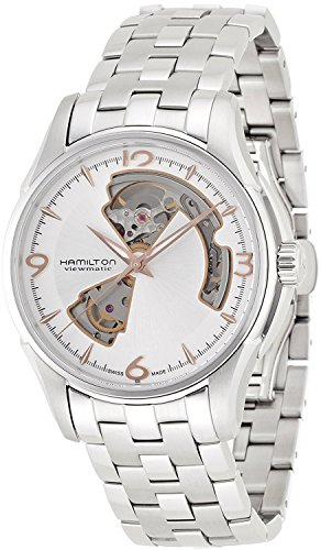 HAMILTON watch Jazzmaster Open Heart H32565155 Men's [regular imported goods]