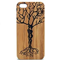 Ketubah Love Tree iPhone 6 Plus Case. Tree of Life. Couples Jewish Judaism HaShem. Twin Flame. Eco-Friendly Bamboo Wood Cover. Valentine's Day Gift