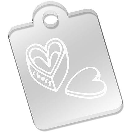 Azeeda Caja de Chocolate corazón Llavero (AK00041830 ...