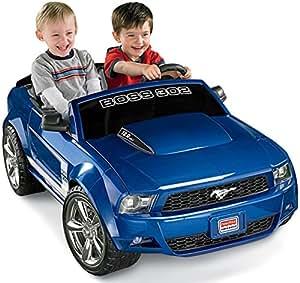 Power Wheels Ford Mustang Boss 302, Blue