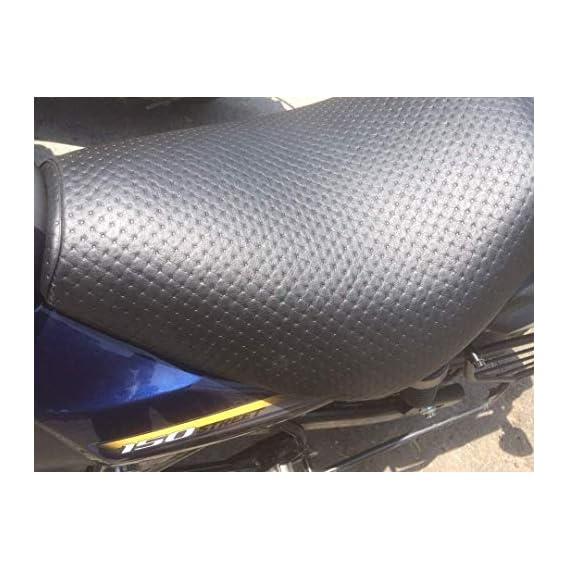 SaharaSeats Bajaj Avenger 150/180/220 Black Seat Cover All Models/
