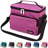 Best Ladies Lunch Bags - Leakproof Reusable Insulated Cooler Lunch Bag - Office Review