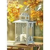 10-Wholesale-Silver-Scrollwork-Candle-Lantern-Wedding-Centerpieces