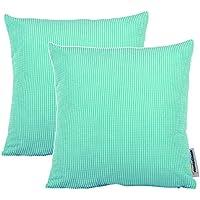 Coach Candy Color Home Funny Cushion Pillowcase Corn Cover,2-Piece Pillow Cases Skyblue