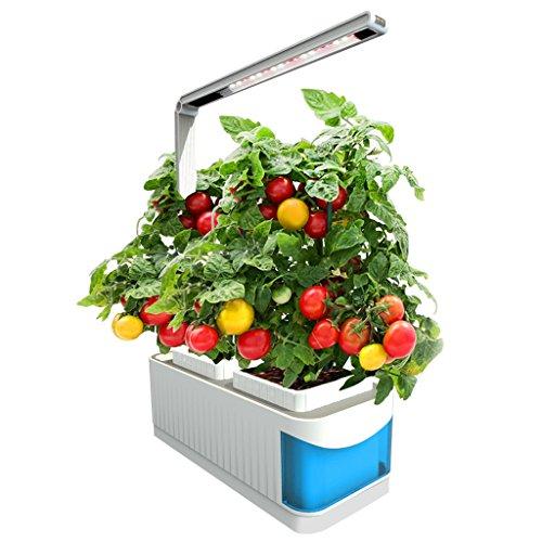 finether indoor garden kit hydroponic garden kit lamp smart herb gardening kit desk led grow light - Indoor Garden Kit