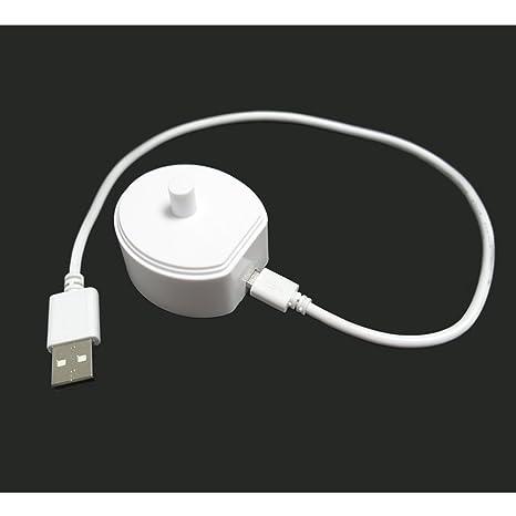 nincha Reemplazo Micro USB cargador de puerto para cepillo de dientes eléctrico para Oral B Serie