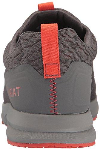 Ariat Womens Fuse Athletic Shoe, Rainbow Serape Mesh, 11 B US Forged Iron