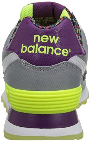 New Classic Street Balance Beat Pack Sneaker WL574 Grey Women's SwqfZx4rS