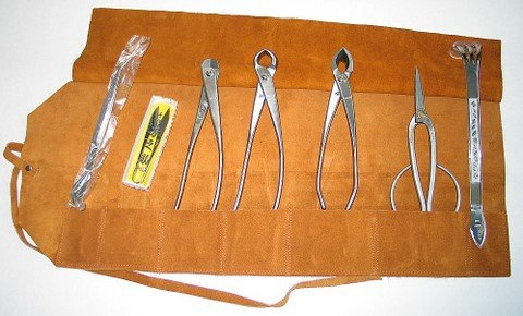 Joshua Roth 8 Pc Stainless Steel Master Bonsai Tool Kit
