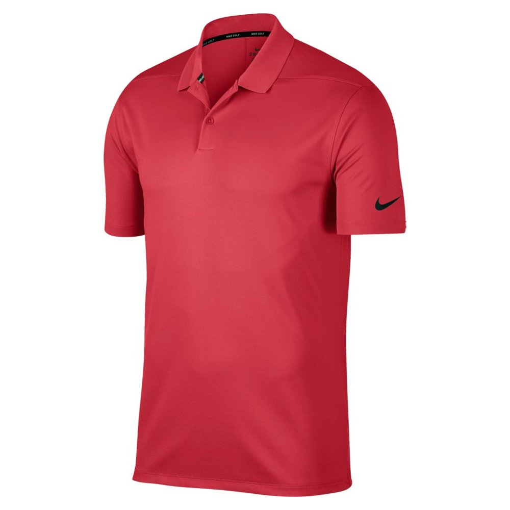 Nike Dri Fit Victory Solid Golf Polo 2019 Tropical Pink/Black XX-Large by Nike