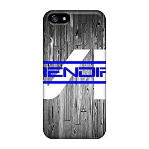 Quality RobertWood Cases Covers With Blue Wood Nice Appearance Compatible With Iphone 5/5s