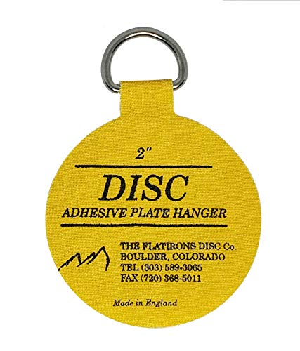 Original English Plate Hanger Disc Kit--Quantity of Four of the 2 Inch Discs