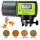 Torlam Auto Fish Feeder, Moisture-Proof Electric Auto Fish Feeder,Aquarium Tank Timer Feeder Vacation &Weekend 2 Fish Food Dispenser