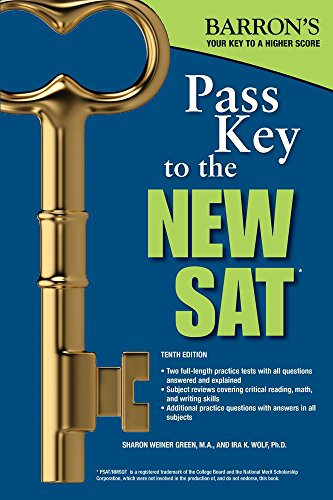 Pass Key to the NEW SAT, 10th Edition (Barron's Pass Key to the SAT)