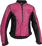 Firstgear Women's Contour Mesh Pink/Black Jacket, XS