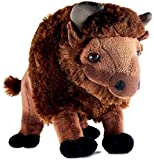 VIAHART Billy The Bison | 11 Inch Buffalo Stuffed Animal Plush | by Tiger Tale Toys