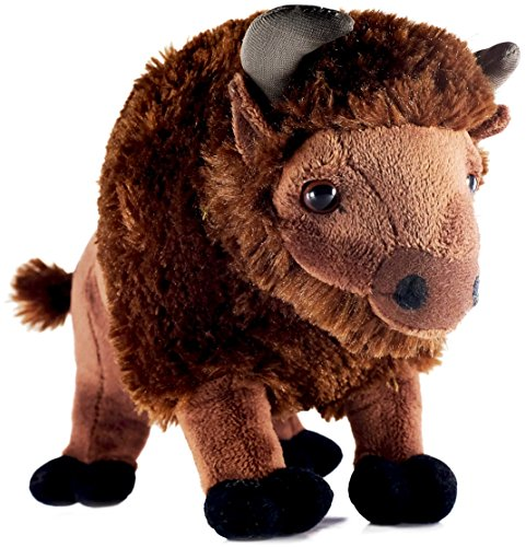 Billy the Bison | 11 Inch Buffalo Stuffed Animal Plush | By Tiger Tale Toys (Stuffed Buffalo)
