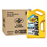 Pennzoil 550046122-3PK Platinum 5 quart 5W-20 Full Synthetic Motor Oil (SN/GF-5 Jug 3pk.)