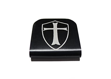 11589e1f21fe Morale Tags Templar Shield for Your Hat! Clips Right On!