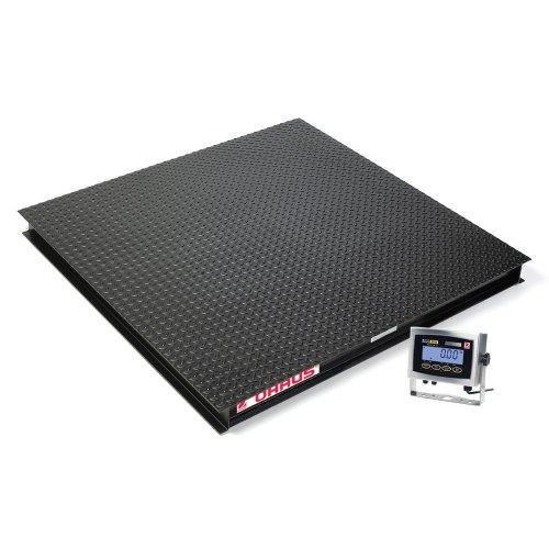 Ohaus VX32XW2500L VX Standard Floor Scale, 2500lbs Capacity, 0.5lbs Readability, 4' Length x 4' (Hunting Supplies Houston)