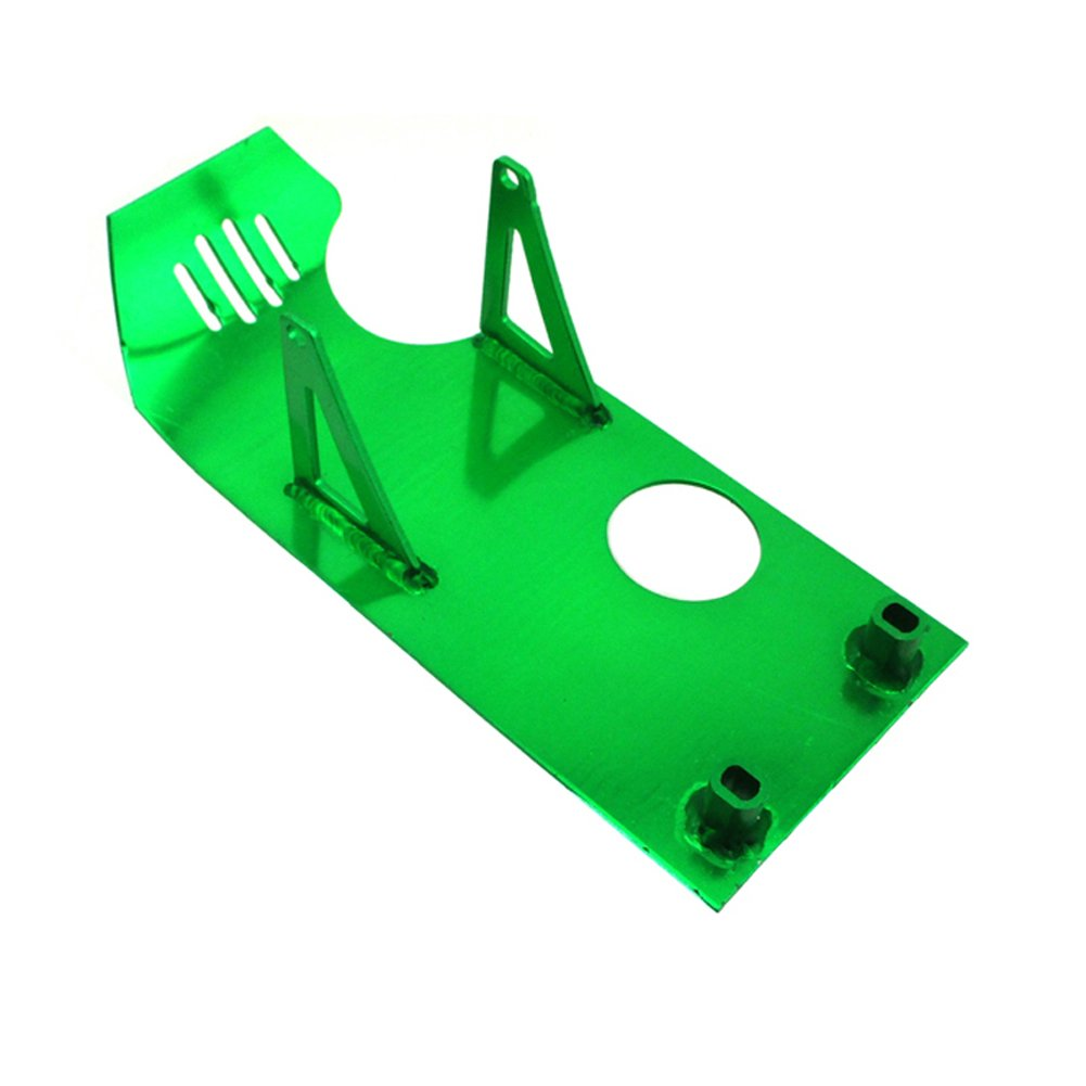 TC-Motor Green Aluminum Engine Skid Plate For Honda XR50 CRF50 Dirt Pit Bike 50cc 70cc 90cc 110cc 125cc 140cc Lifan YX SSR Thumpstar Coolster Taotao Apollo Kayo Stomp