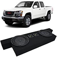 2004-2012 GMC Canyon Crew Cab Truck Kicker CompVT CVT10 Dual 10 Sub Box Enclosure New - Final 2 Ohm
