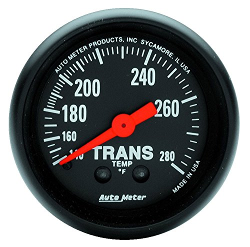 Auto Meter 2615 Z-Series Mechanical Transmission Temperature (Mechanical Transmission Temperature Gauge)