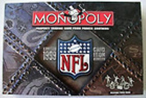 Monopoly - 1999 Grid Iron (Limited Edition) by Parker (Nfl Monopoly)