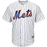 New York Mets Blank White Youth Cool Base Home Replica Jersey