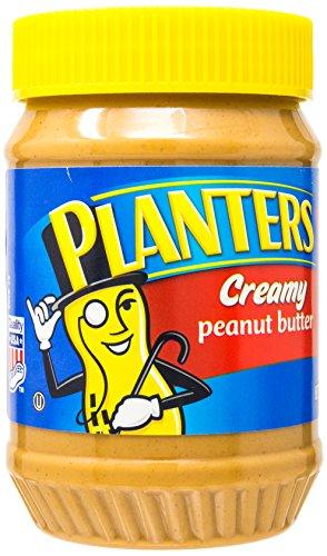 Planters Creamy Peanut Butter Plastic Jar, 18-Ounces