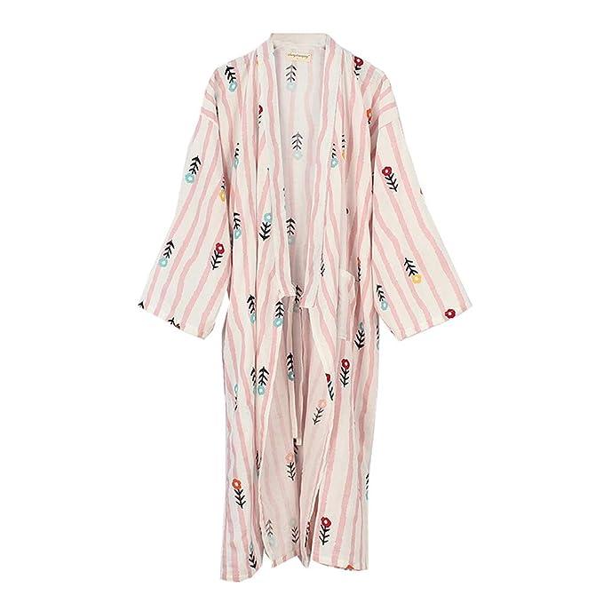 Fancy Pumpkin Traje de baño Elegante de Las Mujeres japonesas del Vestido de la Bata de