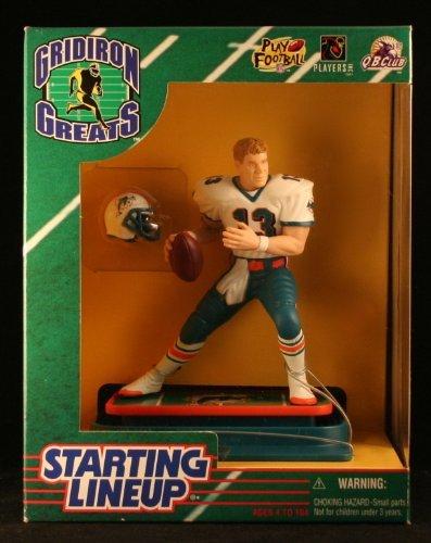 Starting Lineup DAN Marino / Miami Dolphins 1997 NFL Gridiron Greats Deluxe 6 Inch Figure - Miami Dolphins Deluxe Helmet