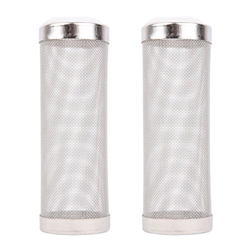 Intake Strainer Filter, Powkoo Aquarium Fish Tank Pre-filter Intake Filter Cover Filter Guard (L)