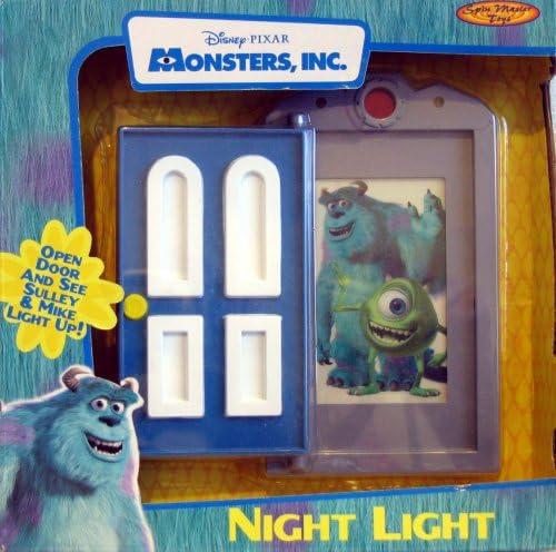 Amazon Com Monsters Inc Night Light Toys Games