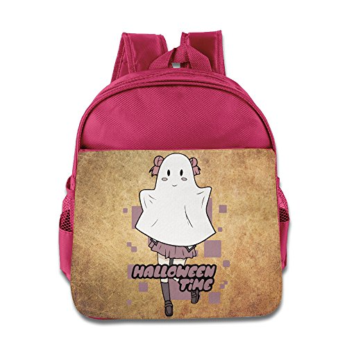 Funny Halloween Costumes For College Kids (Halloween Time Costume Kids Backpack School Bag For Boys/girls Pink)
