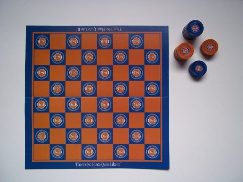 checkers-set-travel-size-w-paper-board-dave-busters
