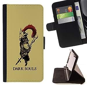 For LG G3 Case , Alma oscura- la tarjeta de Crédito Slots PU Funda de cuero Monedero caso cubierta de piel