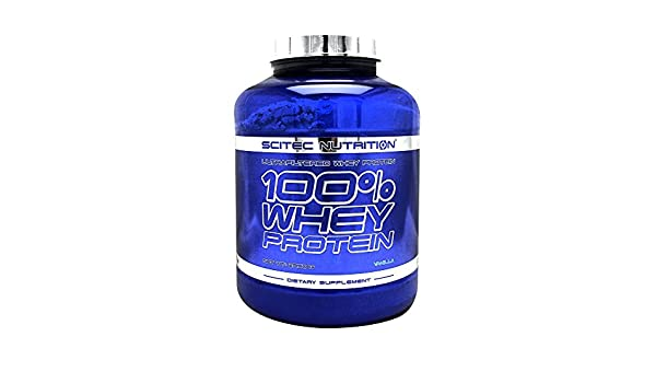 Amazon.com: 100% whey protein - 5.18 lbs - Tiramisu - Scitec nutrition: Health & Personal Care