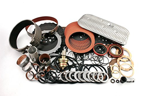 Deluxe Transmission Gasket - Th400 Alto Red Eagle and Kolene steel Deluxe Transmission Rebuild Kit level 2
