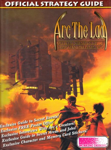 Arc the Lad Official Strategy Guide