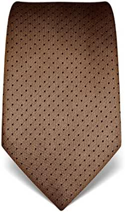 Vincenzo Boretti Men's Silk Tie - polka dot pattern - many colors available