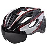 Cheap fjqxz Bike Bicycle Cycling Adult Helmet Adjustable Size Lightweight Safety for Hiking Sports Climbing Outdoor