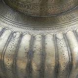 Indianshelf Handmade Bronze Pooja Spiral Design Water Pot Statues Decoration Designer Vintage Statement Pieces Online New