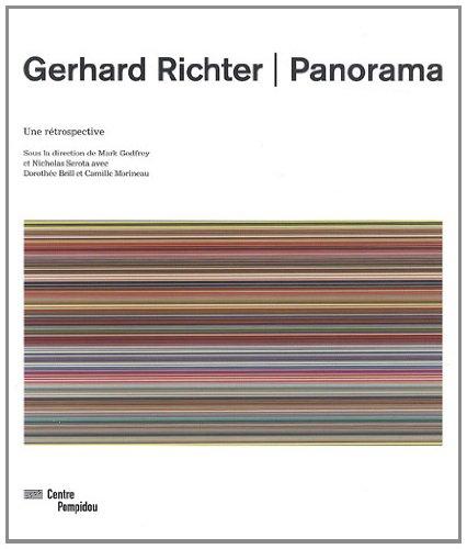 Gerhard Richter ,Panorama   catalogue de l'exposition